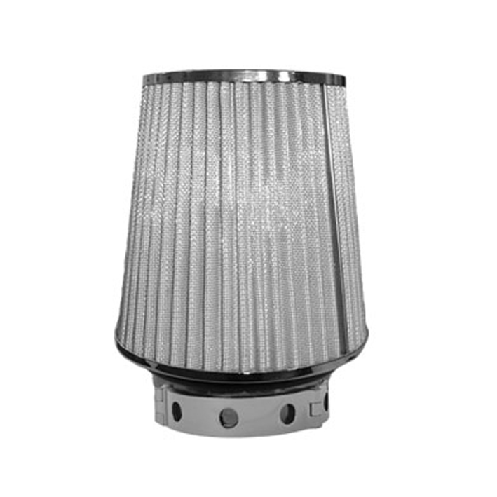 Stainless Steel Air Cleaner Housing : Universal air filter long with stainless steel