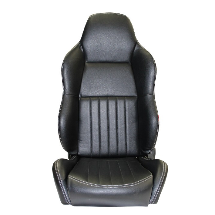 Classic High Back Pu Leather Seats Pair Autotecnica Imports Pty Ltd