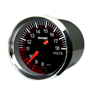 BLACK FACE ANALOG GAUGES (52mm) (G6B SERIES)